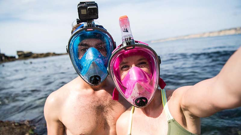 10 Best Full Face Snorkeling Mask Reviews