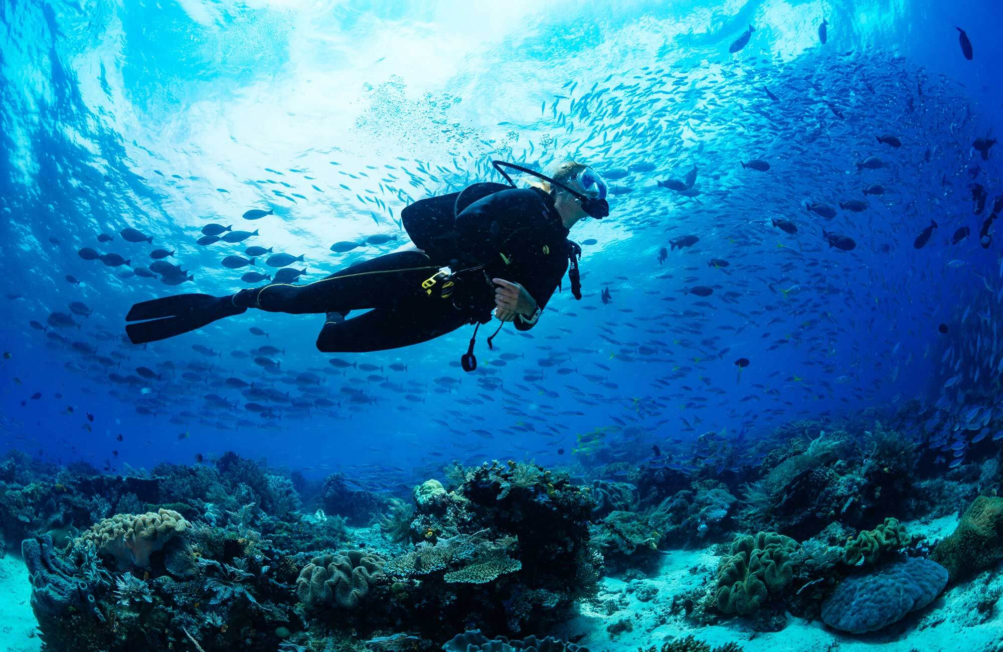 Avoid diving when feeling unwell or unhealthy