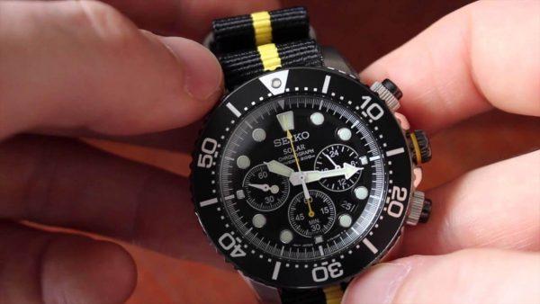 Seiko Men's SSC021 Chronograph Watch