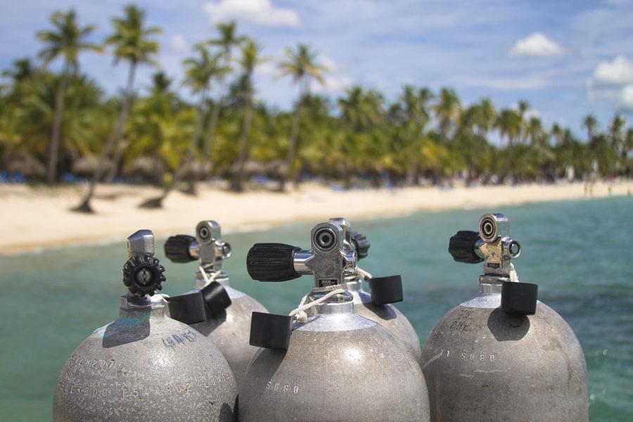 Aluminum and steel scuba tank sizes