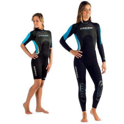 Seavenger Tropical womens shorty wetsuit