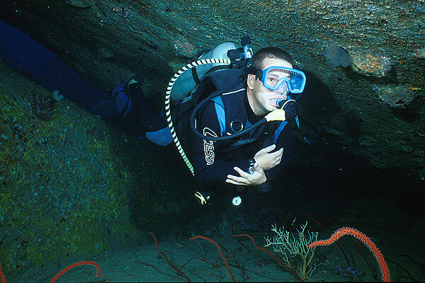 Elephant Head Rock diving in Thailand