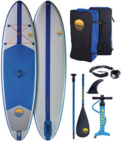 Sunset Inflatable Board with Backpack