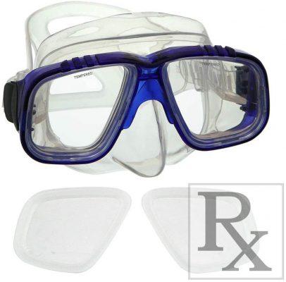 GetWetStore RX Scuba Dive Snorkeling Mask