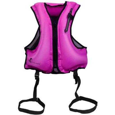 Kingswell Adult InflaKingswell Adult Inflatable Snorkel Vesttable Snorkel Vest