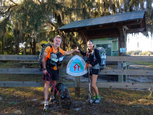 Pet Beach hike with dogs in Clearwater Florida