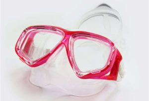 Image of snorkel mask for glasses wearers
