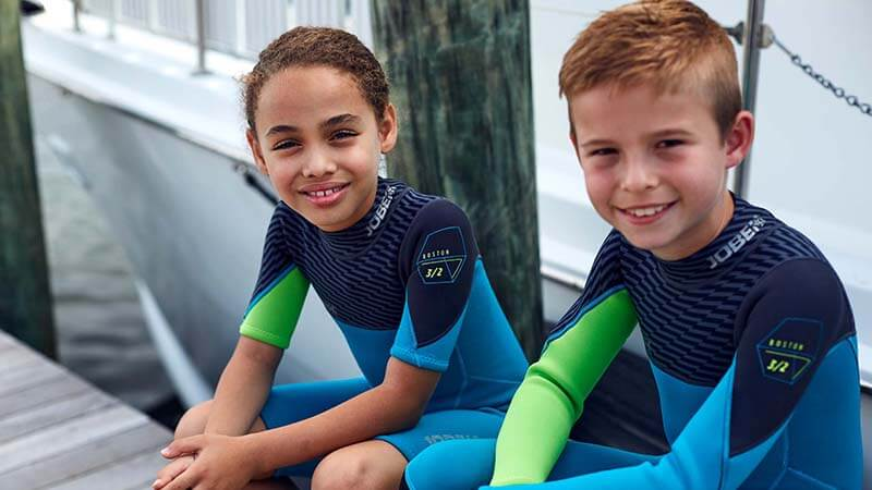 Kids Wetsuit Safety