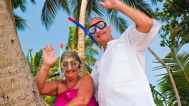 Scuba diving for senior citizens