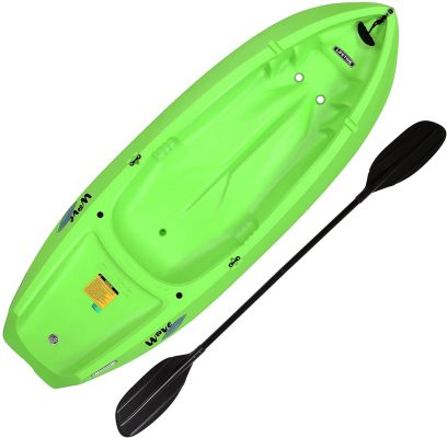 Youth Wave Kayak With Paddle