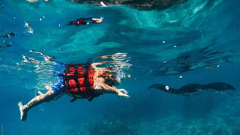 Is-Snorkeling With A Life Jacket Possible