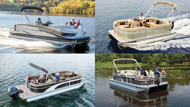Possible pontoon boat speed range