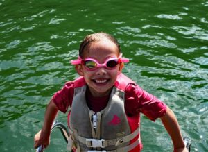 image of snorkeling with life jacket