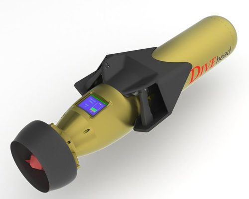 Image of diver propulsion vehicle