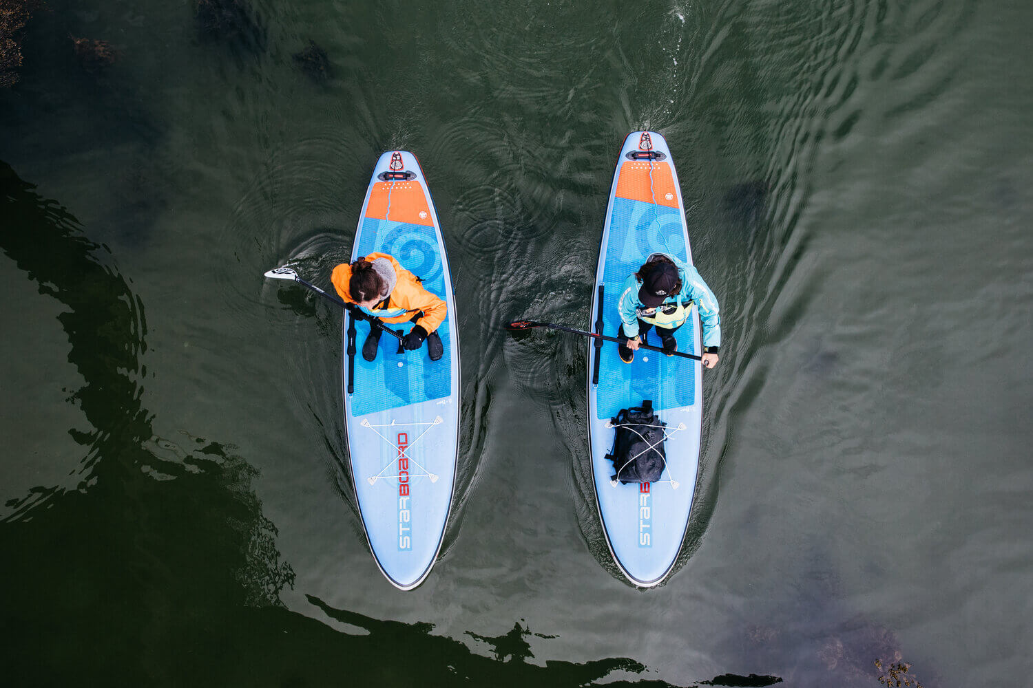 Buy a paddleboard according to the SUP chart
