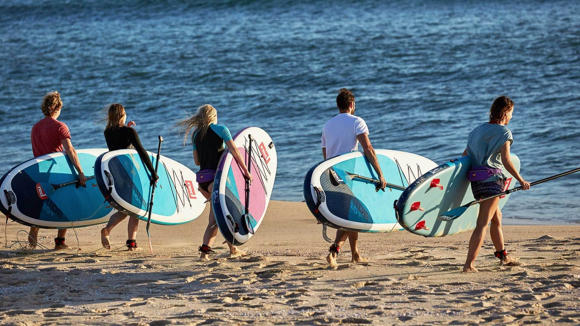Buying paddle boards by volume