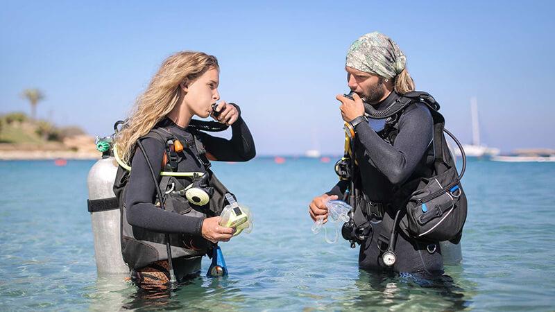Do a Thorough Pre Dive Check