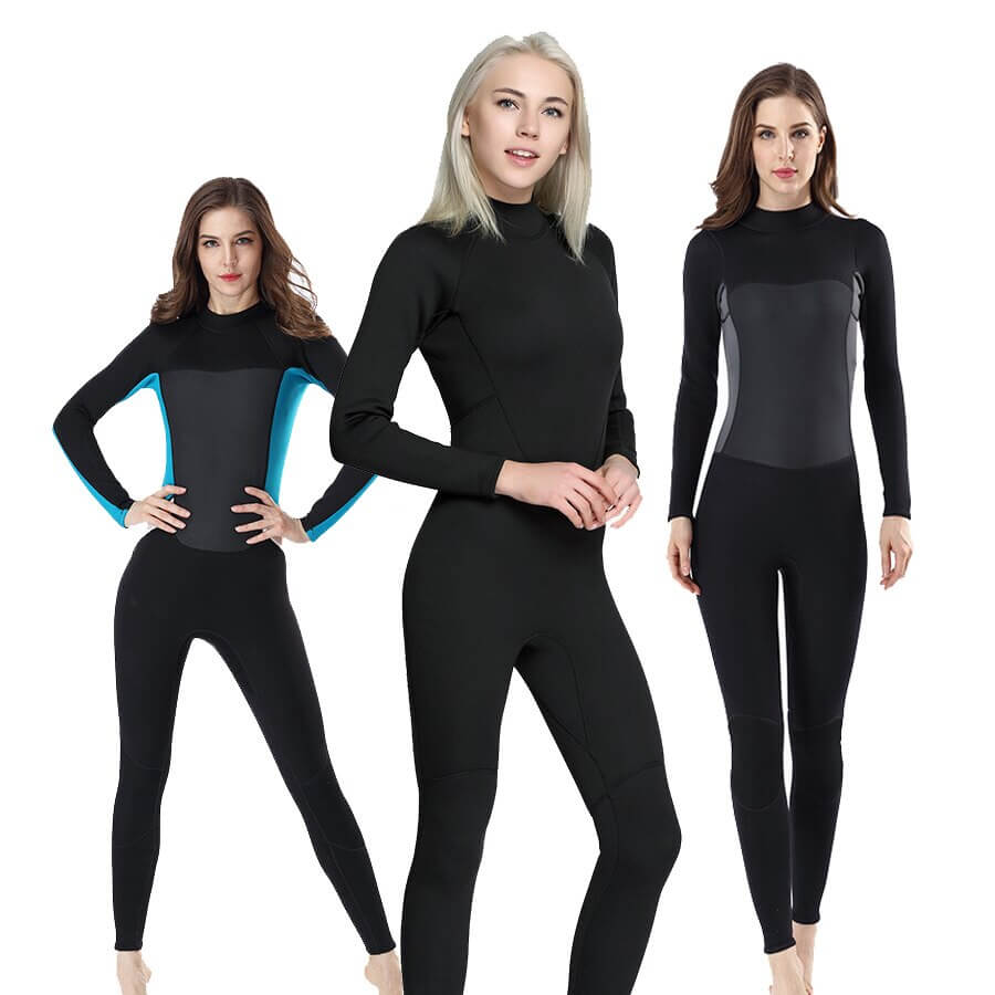 From 2mm wetsuits to 7mm wetsuits