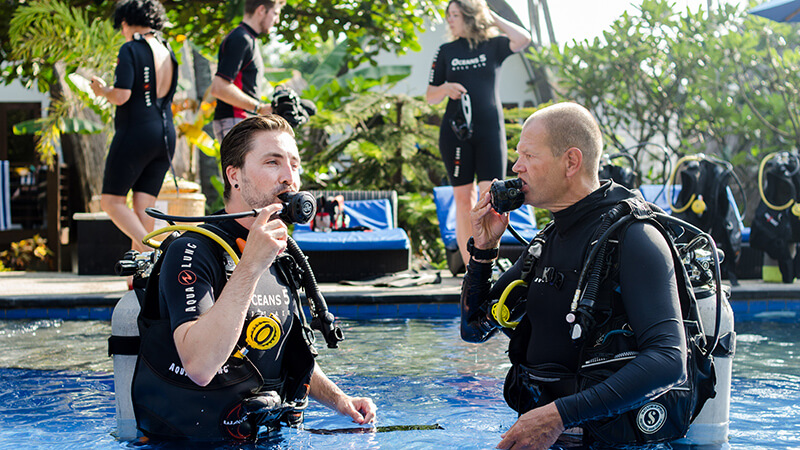 Scuba diving safety checks for all divers