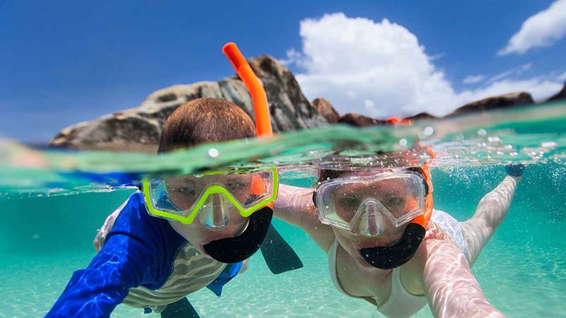 Get the right snorkel mask