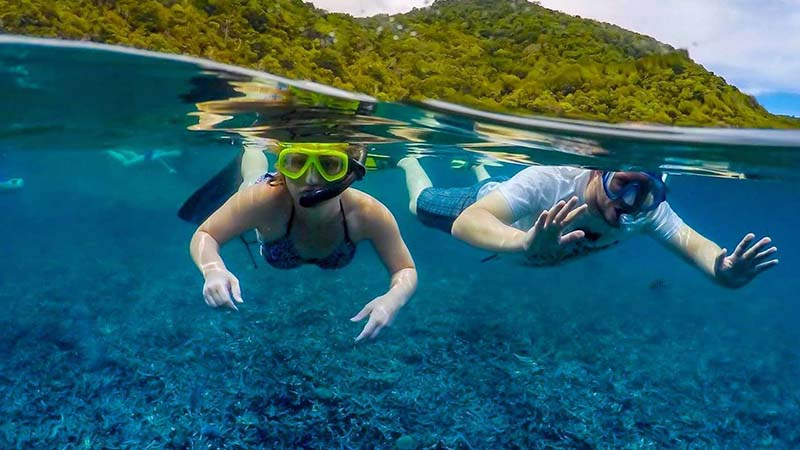 Just enjoy your snorkeling experience