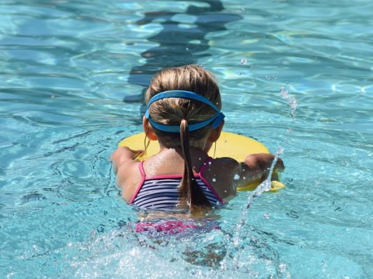 image of childrens full face snorkel mask