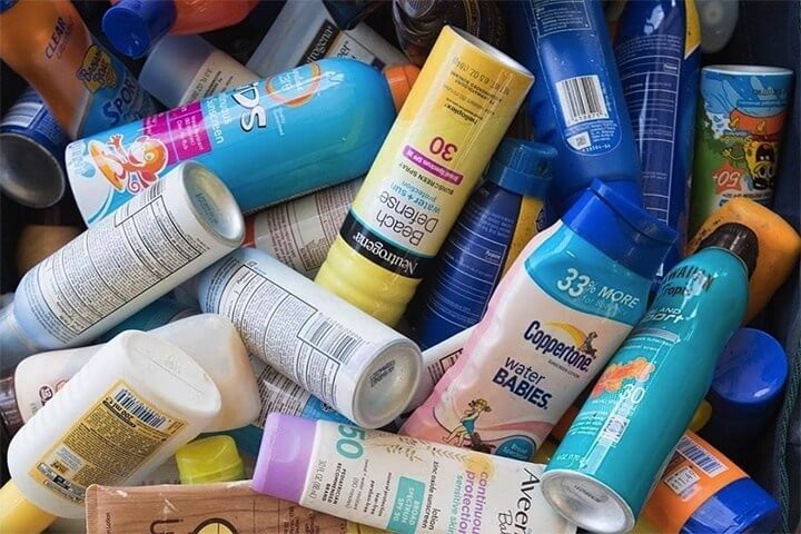 Some Neutrogena sunscreens are not reef safe
