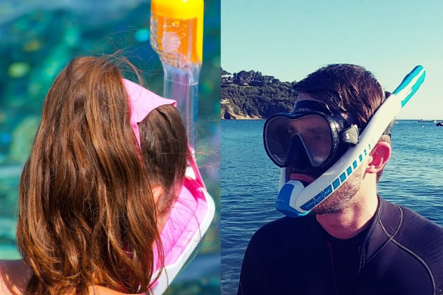 Choosing the best traditional snorkel mask
