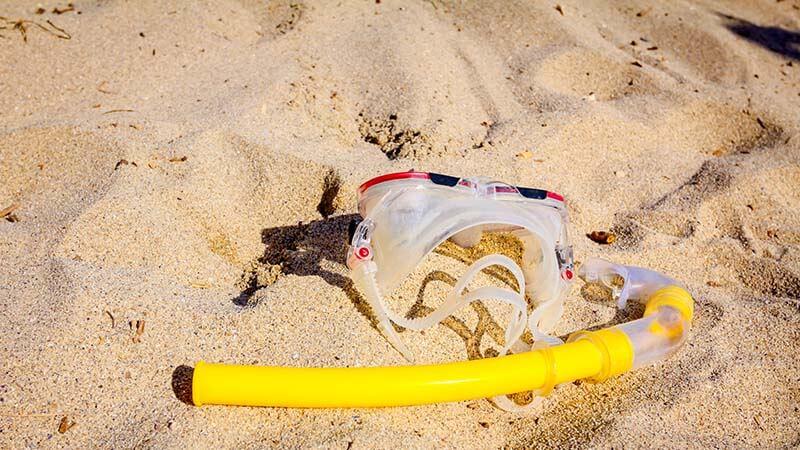 Dry snorkel tube