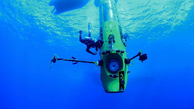 Extreme deep diving in the Mariana Trench