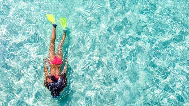 Choose top snorkeling fins