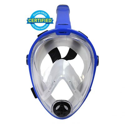 Deep Blue Gear Vista Vue Full Face Snorkeling Mask