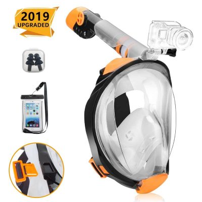 Rasse Full Face Snorkel Mask amazon