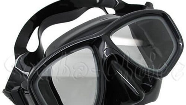 Scuba Black Dive Mask NEARSIGHTED Prescription RX Optical Lenses