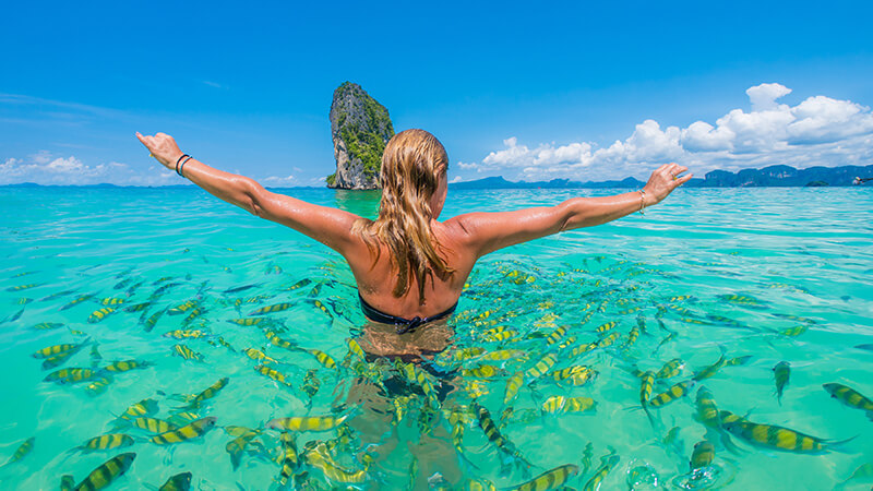The Andaman Sea, Thailand