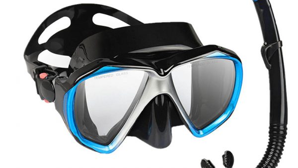 Top Studio Snorkel Diving Mask Set