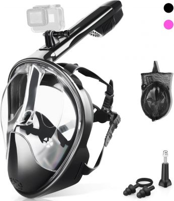 Zipoute Full Face Snorkel Mask amazon