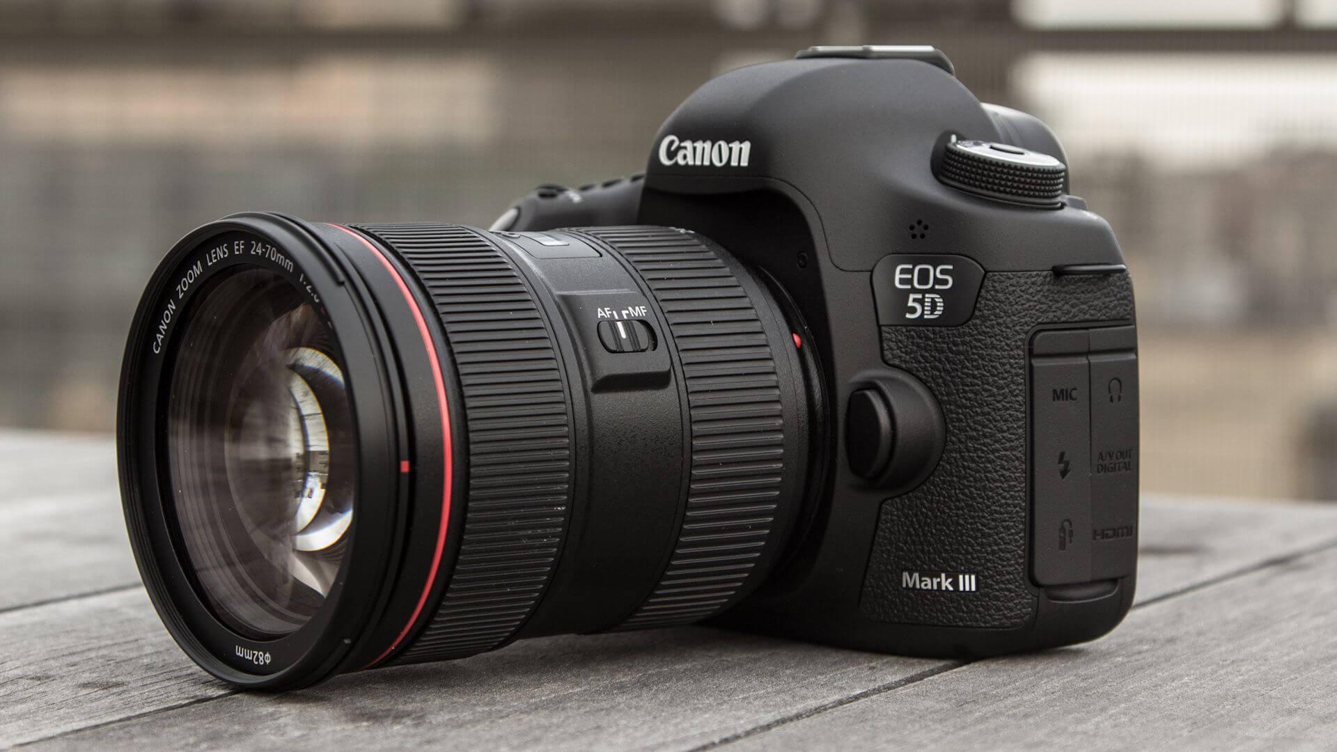 Canon EOS 5D Mark III Output
