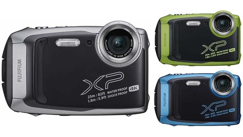 How does the Fujifilm Finepix XP80 work