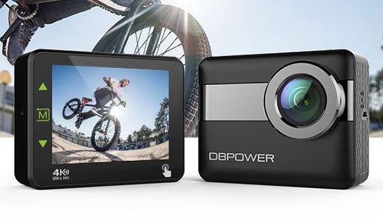 Rev DBPower N6 4K touchscreen action camera