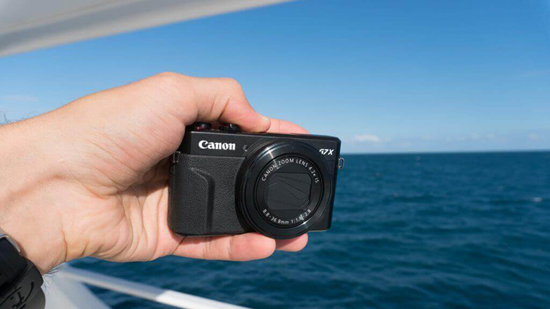 Canon Powershot G7 X Mark II Connectivity 1