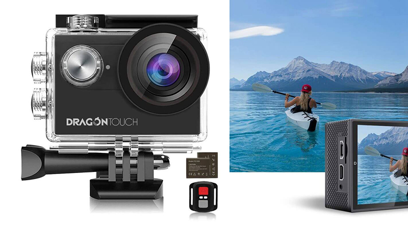 Dragon Touch 4K Action Camera design 1