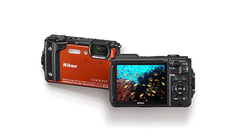 Nikon Coolpix W300 Digital Camera Screen