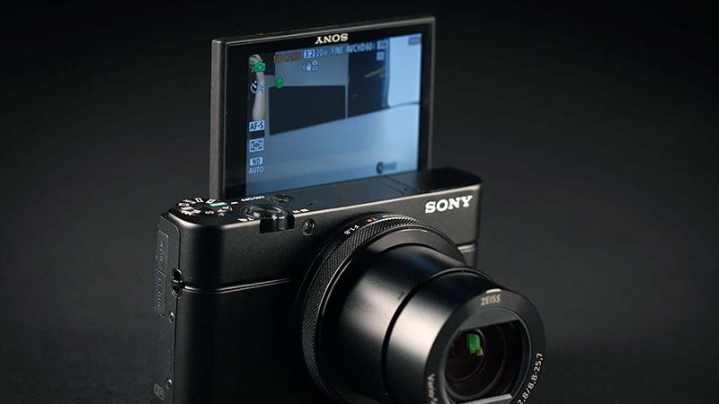 Sony Cyber shot DSC RX100 IV Lens